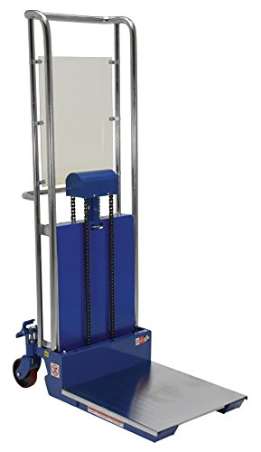Vestil HYD-10 Foot Pump Hefti-Lift, 880 lbs Capacity, 24'' Length x 23'' Width Platform, 3-1/2'' - 59'' Height Range by Vestil