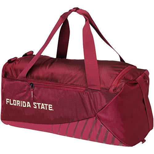 Nike Florida State Seminoles Vapor Max Air Duffel Bag Burgundy Tan