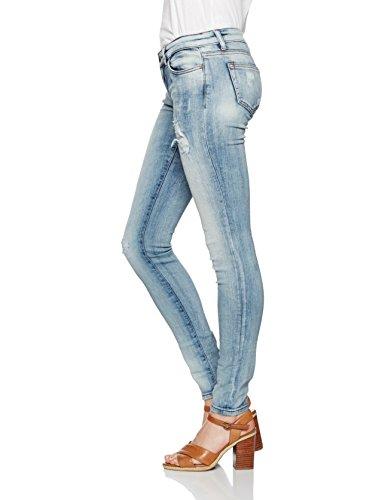 51086 semilla Coupe Jean Jeans Clara Ajustée Femme Blau Ltb Wash Cqzvw4Z