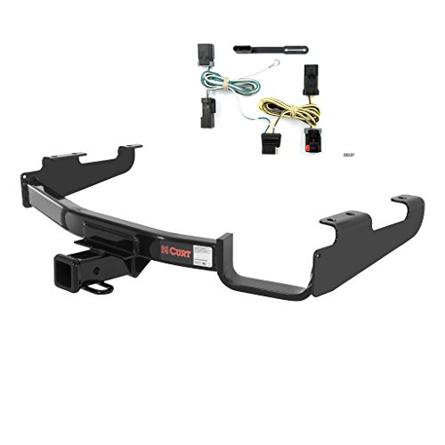 - CURT Class 3 Trailer Hitch Bundle with Wiring for Chrysler Town & Country, Dodge Caravan - 13362 & 55537