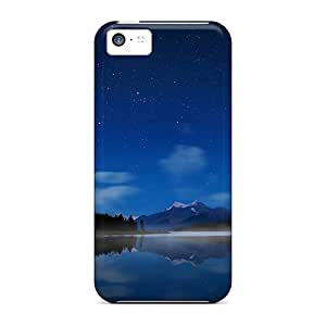 For ZAz1839IlJd Mountains Stars Skyscapes Protective Case Cover Skin/iphone 5c Case Cover