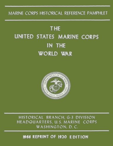 Read Online The United States Marine Corps in the World War pdf