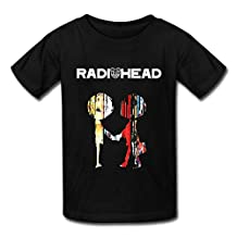 RIen Youth Radiohead Best Of Poster T-Shirt - Black