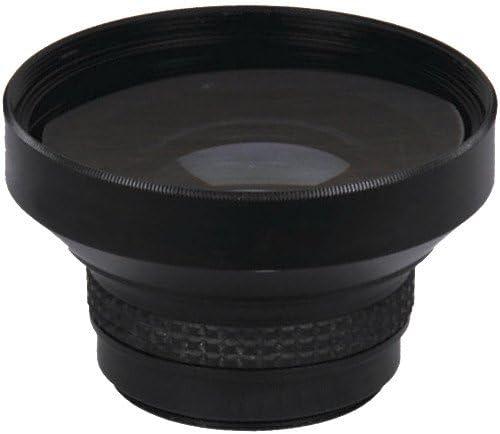 High Defintion 0.160x Lens Black Finish Optics NC New Super Fisheye 58mm Fish-Eye -