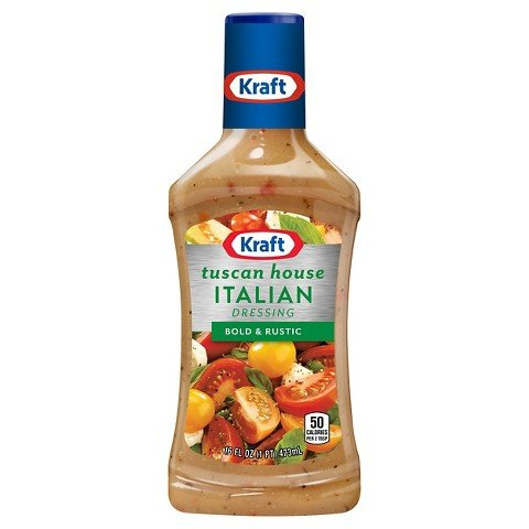 Kraft Tuscan House Italian Salad Dressing (Pack of 2) 16 oz ()