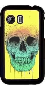 Funda para Samsung Galaxy Y (S5360) - Cráneo Del Arte Pop by Balazs Solti