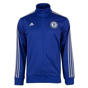 2015-2016 Chelsea Adidas 3S Track Top (Blue): Amazon.es: Deportes ...