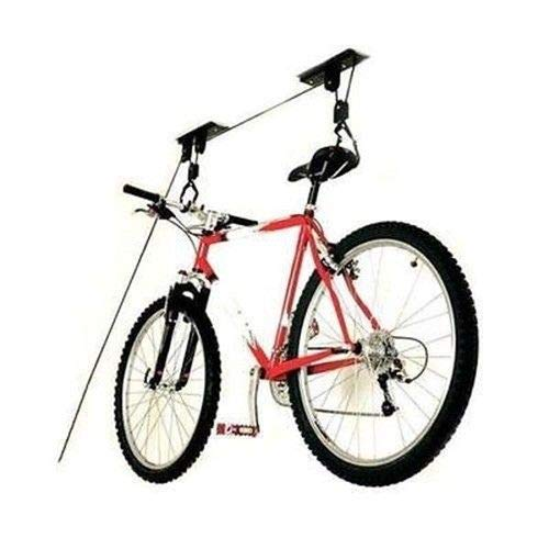 Nikkycozie Ceiling Mounted Roof Bicycle Pulley Racks Stand Garage Storage