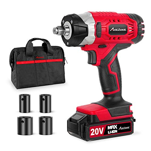 20V MAX Cordless Impact Wrench with 1/2