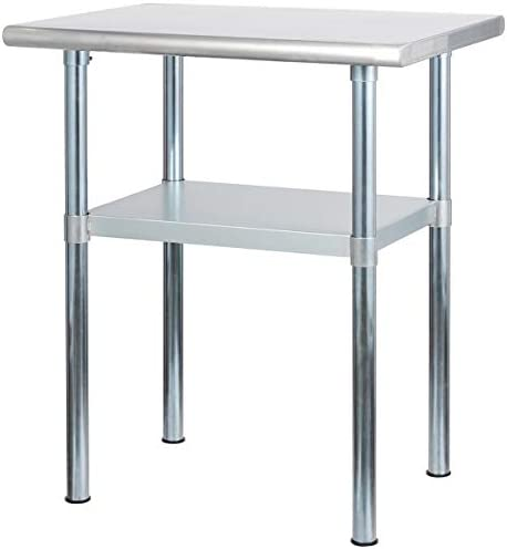 ROCKPOINT NSF Stainless Steel Commercial Kitchen Work Table