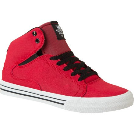 Supra TK Society Mid Skate Shoes - formula one red expres...