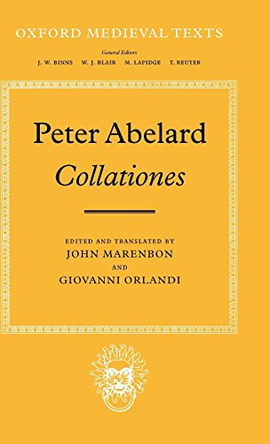 Abélard's Collationes (Oxford Medieval Texts)