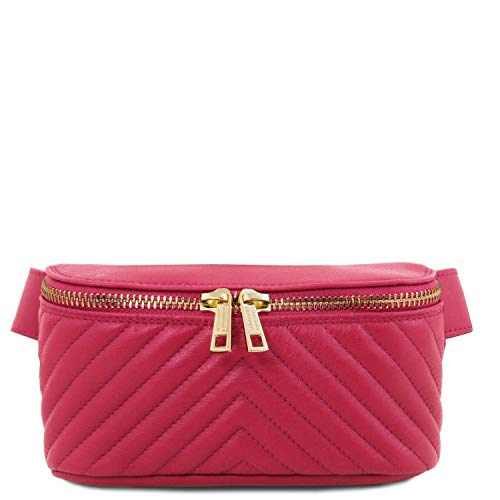 Price comparison product image Tuscany Leather TLBag Soft leather fanny pack Magenta