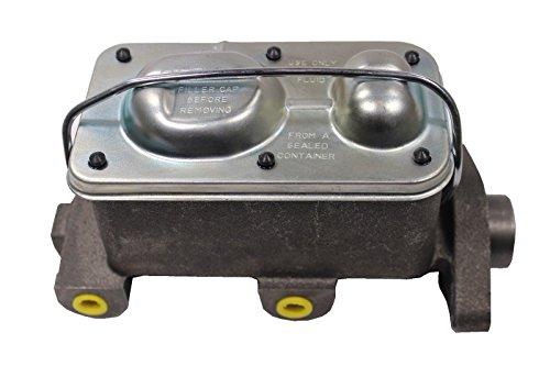 Universal GM Corvette Style Cast Iron Master Cylinder 1 1/8