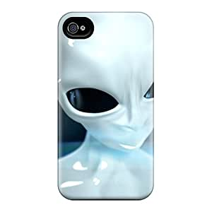 Fashionable ElM6699pBRM Iphone 4/4s Cases Covers For 3d Ufo Hd Protective Cases