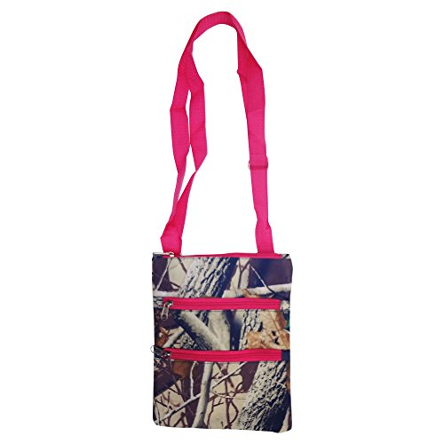 Best New Cute Camo Camouflage Pink Hipster Messenger Bag Swingpack Purse Carry All Crossbody Special Unique 2019 Travel Great Cheap Summer Gift Idea for Teen Girl Girlfriend -