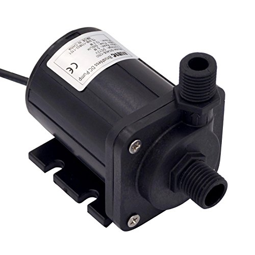 Aubig DC 12V 1.1A 13.2W Brushless Magnetic Drive Centrifugal Submersible Oil Water Pump Aquarium Fish Tank Pump 500L/H 5M/16ft by AUBIG