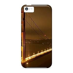 Hot DfU4074sHIn Cityscapes Bridges Golden Gate Bridge Tpu Cases Covers Compatible With Iphone 5c