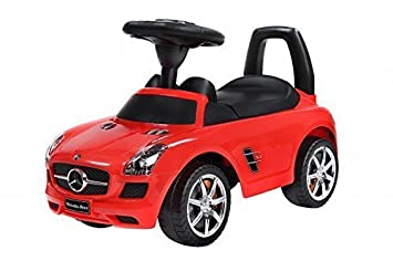 Jouets tirer Trotteur Porteur Baby Car BSD Mercedes SLS AMG 332 White / Blanc Ride-On Activity Toy (red)