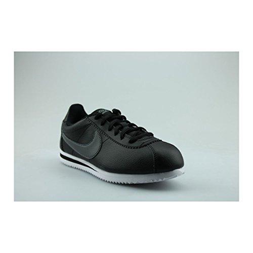 Nike Cortez (Gs), Zapatillas Unisex Niños Negro (Black/dark Grey/white)