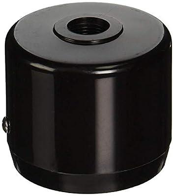 "RAB Lighting MCAP3B Mighty Post Cap for 3"" Pipe, 2-7/8"" OD, Black"