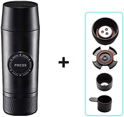 MSQL USB-Mini-Espressomaschine, tragbare Espressomaschine, persönliche Kaffeemaschine, 30 Sekunden schnell und stabil, Geschenke für Kaffeeliebhaber,A