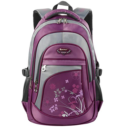 Vbiger Girls Boys Backpack for Middle School Cute Bookbag Outdoor Daypack