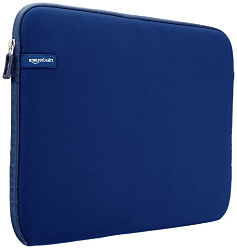Netbook Blue Fitting - AmazonBasics 15.6-Inch Laptop Sleeve - Navy