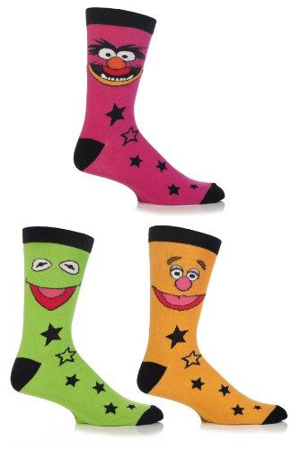 SockShop Men's 3 Pair Muppets Socks 7-12 Multicolored]()