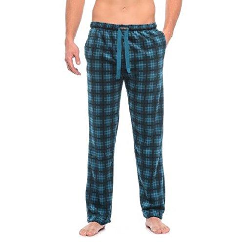 Lucky Men's Soft Fleece Pajama Pant (Blue Opal, Medium) by Lucky Brand
