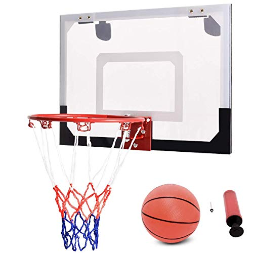 Best Goplus Basketball Backboards - GOPLUS 18'' x12'' Mini Basketball Hoop
