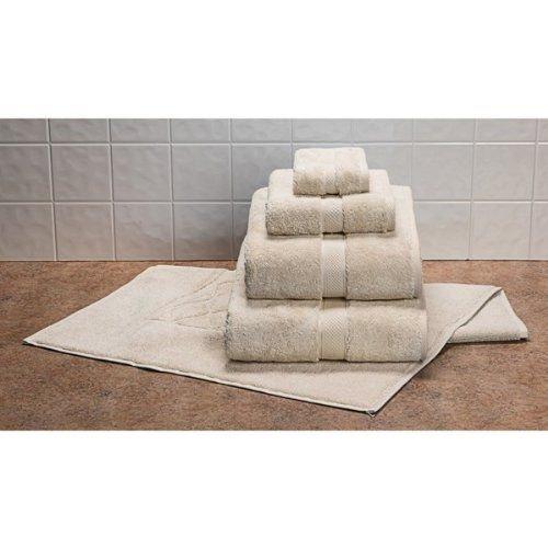 Christy Allure Washcloth - Supima Cotton - Irish Linen