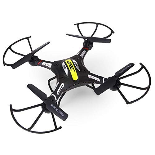 Klions JJRC H8CH RC 6-Axis Quadcopter Drone with 2.4G 4CH RTF w/HD 2.0MP HD Camera 360 Degree Rollover/Video Recording/LED Light(Black)