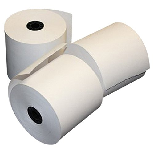 "1-3/4"" (44mm) x 150' Bond Paper Point of Sale (POS) Rolls (Carton of 100 Rolls)"
