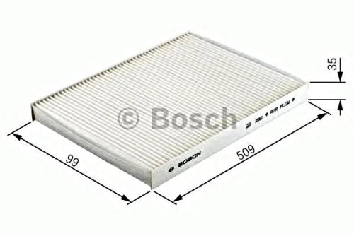 BOSCH Activated Carbon Cabin Air Filter Fits Ford Mondeo III 3 Jaguar 2000-2009