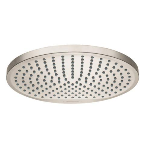- Hansgrohe 26724821 Crometta Showerhead, Brushed Nickel