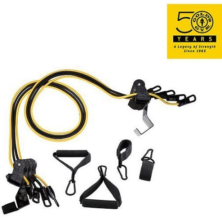 Gold's Gym Home Gym Total Body Resistance Training Exercise Program Door Attached (Pack of 2)