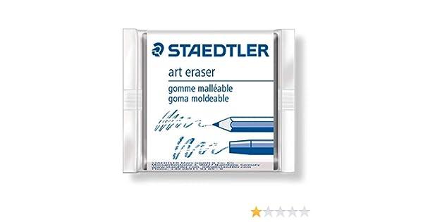 STAEDTLER KARAT ARTISTS ART KNEADABLE PUTTY RUBBER ERASERS by Staedtler PACK of 2