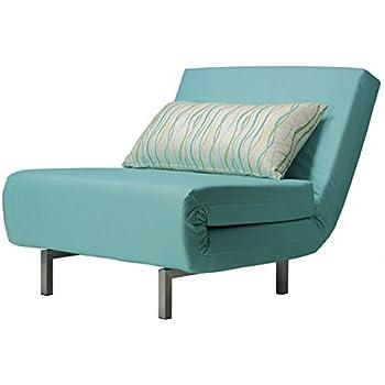 Amazon Com Cortesi Home Savion Convertible Accent Chair