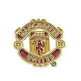 Manchester United Big Crest Pin Badge - Multi-colour