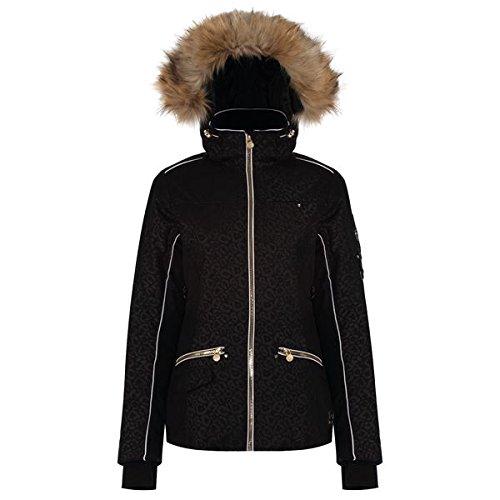 Dare 2b Women's Dare2b Incentivise Waterproof Insulated Jacket, Black Leopard, Size 10 from Dare 2b