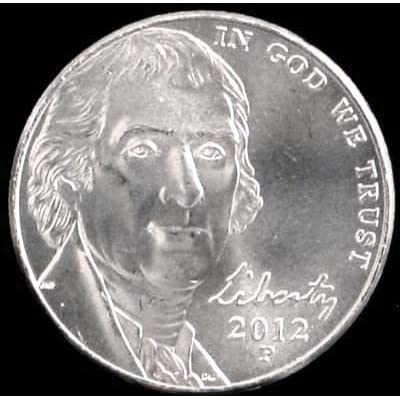 2012-P Jefferson Nickel Brilliant Uncirculated: Toys & Games