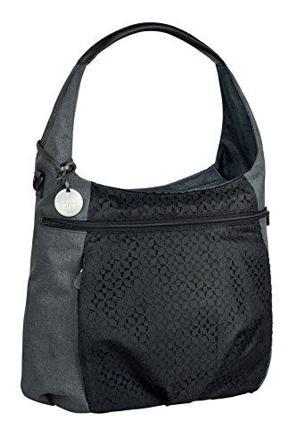 (Lassig Casual Hobo Style Diaper Shoulder Bag Handbag Tote-Bag Includes Matching Insulated Bottle Holder, wipeable Changing Mat, Stroller Hooks,)