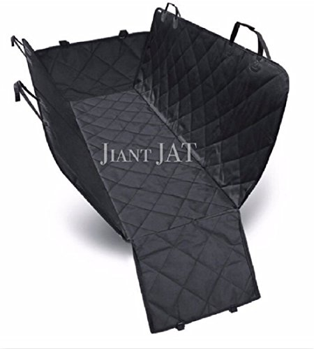 JAT Car Seat Cover for Dogs Car Seat Cover for Pets – Water proof & Non-slip & Scratch proof Black Seat Cover Hammock 54″ W x 58″ L Suitable for Cars Trucks & SUVs For Sale