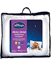 Silentnight Deep Sleep Mattress Topper, White, Double