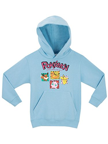 Price comparison product image Pokemon Girls Sweatshirt Light Blue Size 10