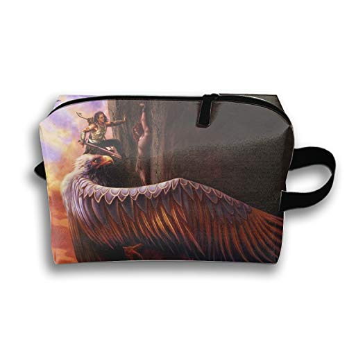 Portable Warrior Saving The Man Fantasy Cosmetic Bag Large Capacity Lazy Travel Makeup - Dunlop Mens Bag
