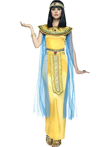Egyptian Jewel Cleopatra Costumes (Egyptian Golden Cleopatra Adult Costume (Large))
