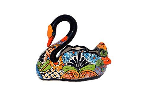 Cheap  Swan Planter Ceramic Talavera Decorative Home Kitchen Design And Patio Garden Pottery..
