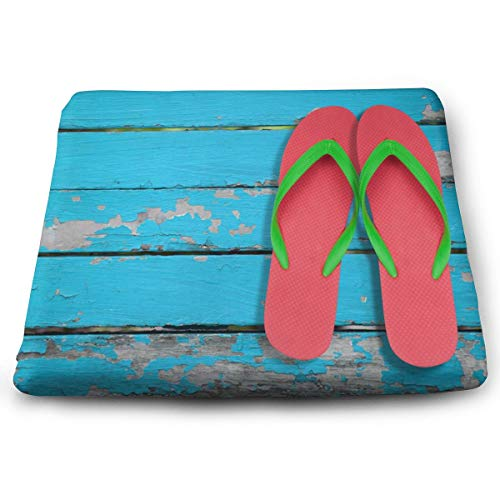 Ladninag Seat Cushion Summer Slippers Chair Cushion Offices Butt Chair Pads for Cars/Outdoors/Indoor/Kitchens/Wheelchairs